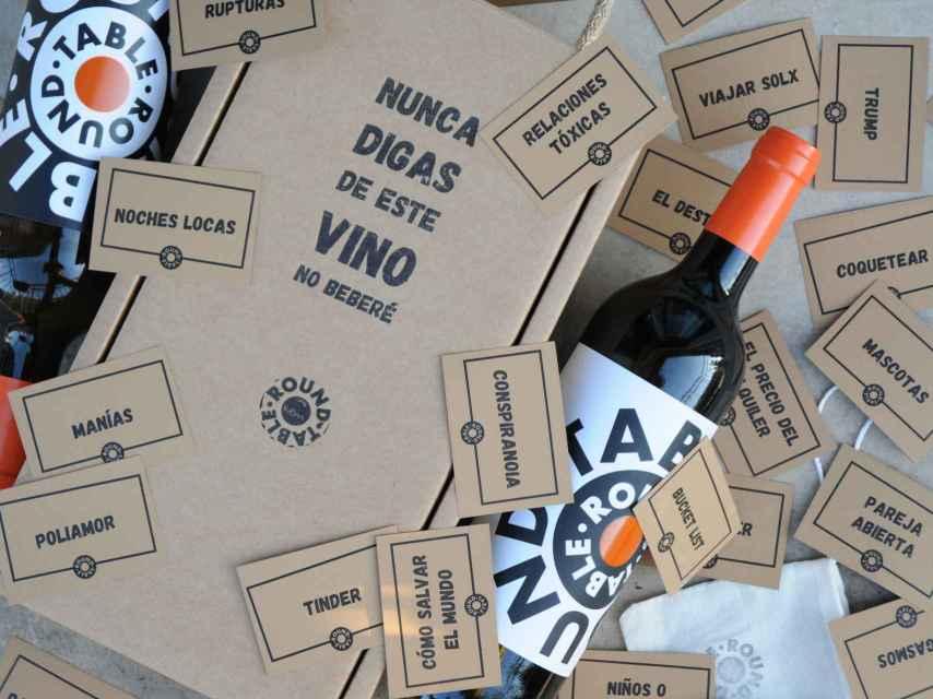Un juego de vino inspirado en el 'Yo nunca'.