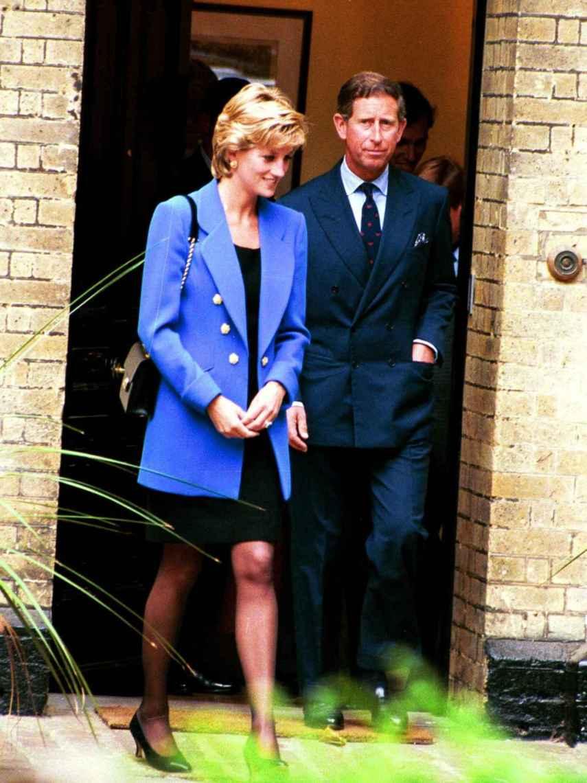 Los príncipes Carlos de Inglaterra y Diana de Gales en la década de los 90.