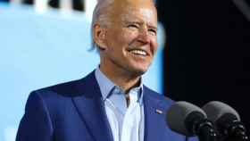 Joe Biden, presidente electo de EEUU, durante un mitin en Florida.