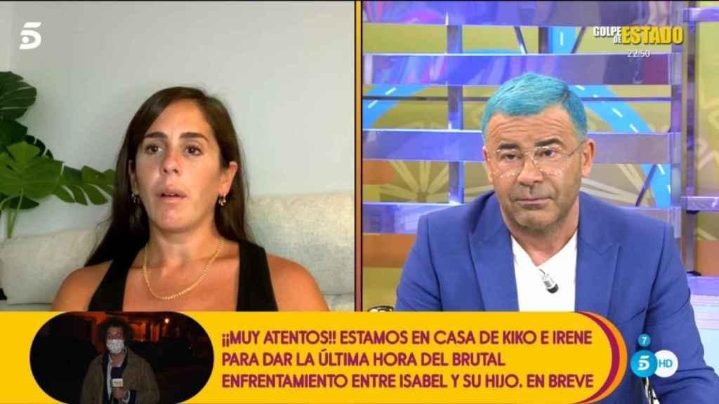 Anabel Pantoja ha pedido perdón a Jorge Javier por sus palabras sobre 'La casa fuerte'.