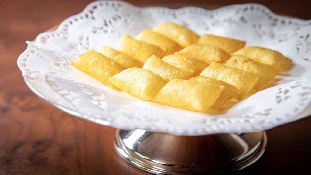 Patatas Soufflé Zalacaín.