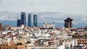 Vista de la ciudad de Madrid.