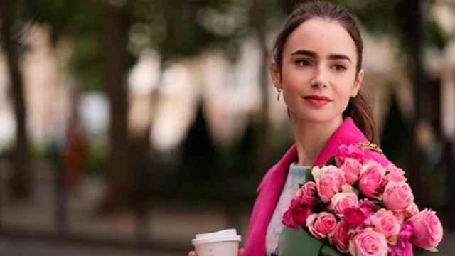 'Emily in Paris', una de las últimas series que ha estrenado Netflix en España.