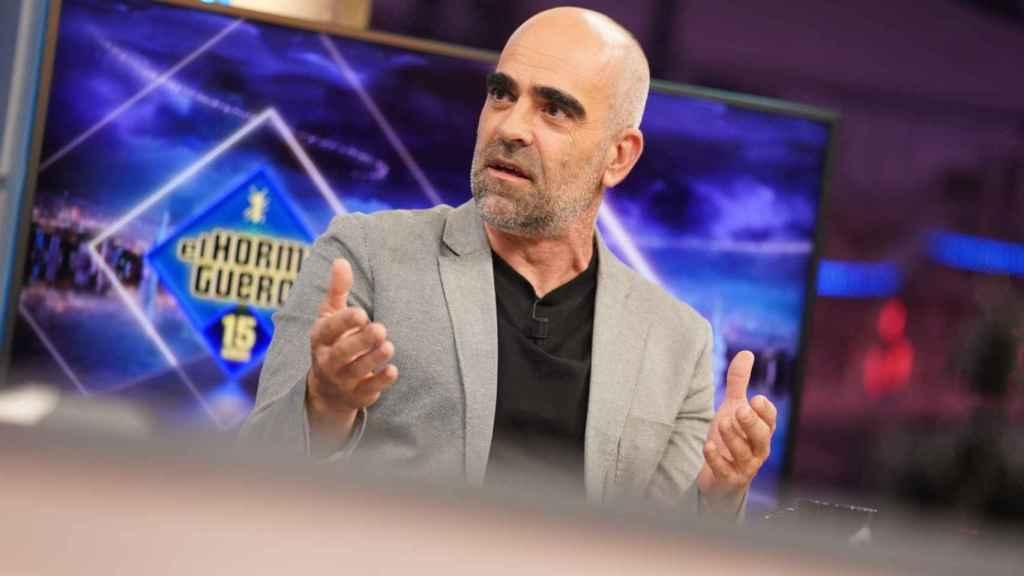 Luis Tosar en 'El Hormiguero'.