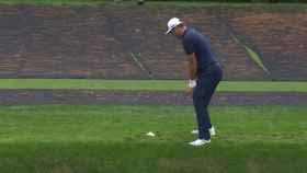 El increíble golpe de Jon Rahm en Augusta