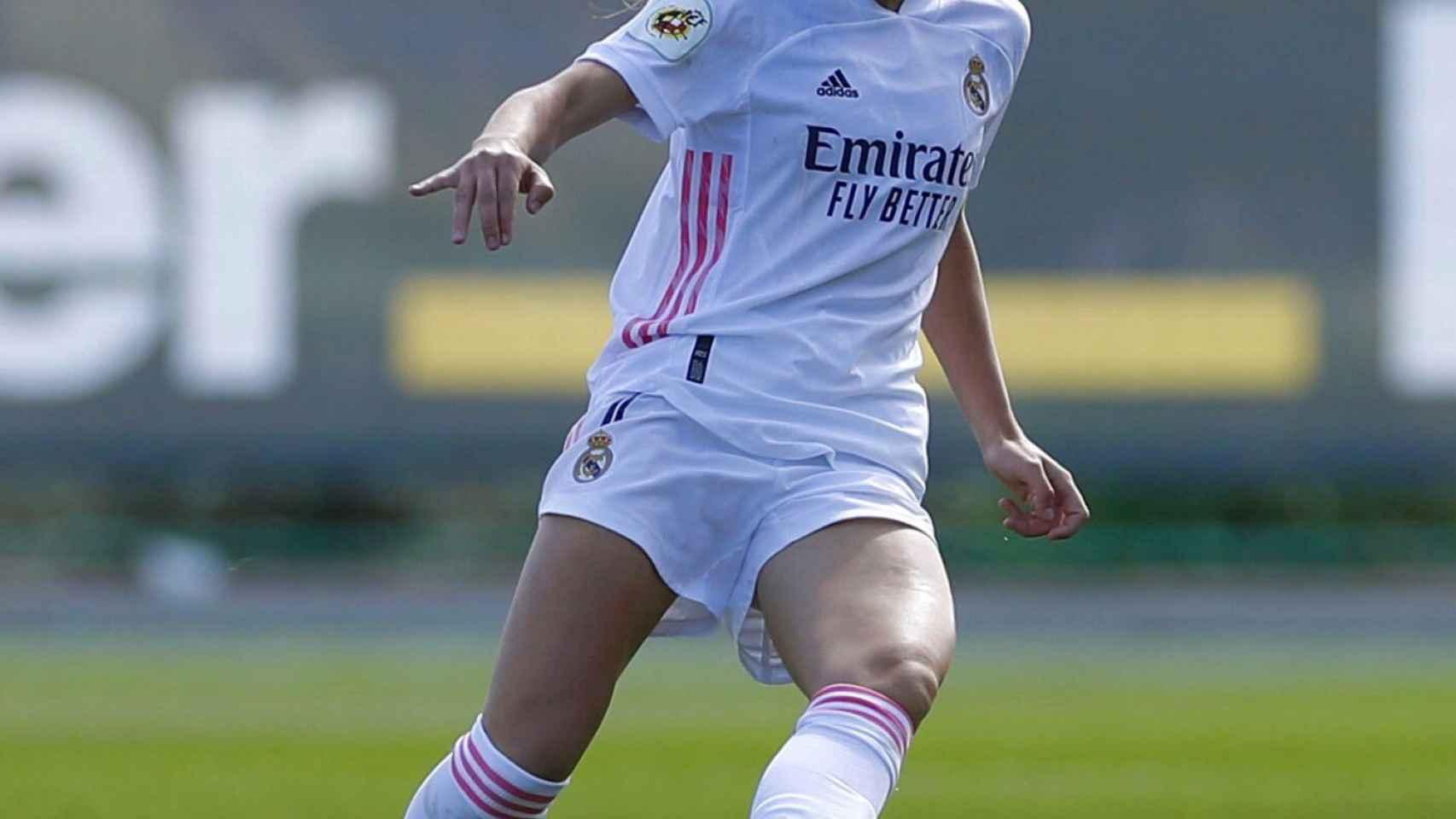 Olga Carmona, jugadora del Real Madrid Femenino