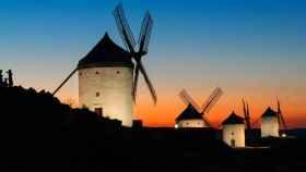 Molinos de Consuegra. Imagen de archivo de la Junta de Castilla-La Mancha