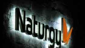Un rótulo de Naturgy en uno de sus centros de trabajo.