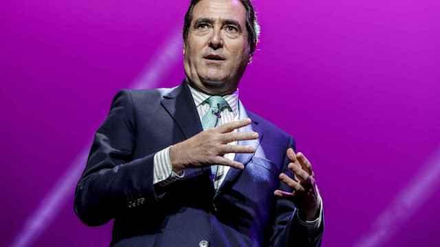 El presidente de la patronal CEOE, Antonio Garamendi.