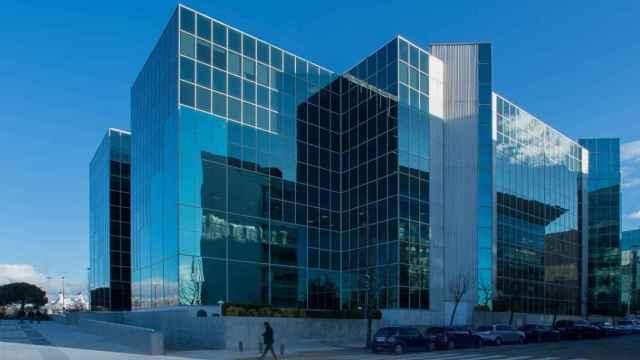 Imagen del Edificio Egeo en Madrid, propiedad de Colonial.