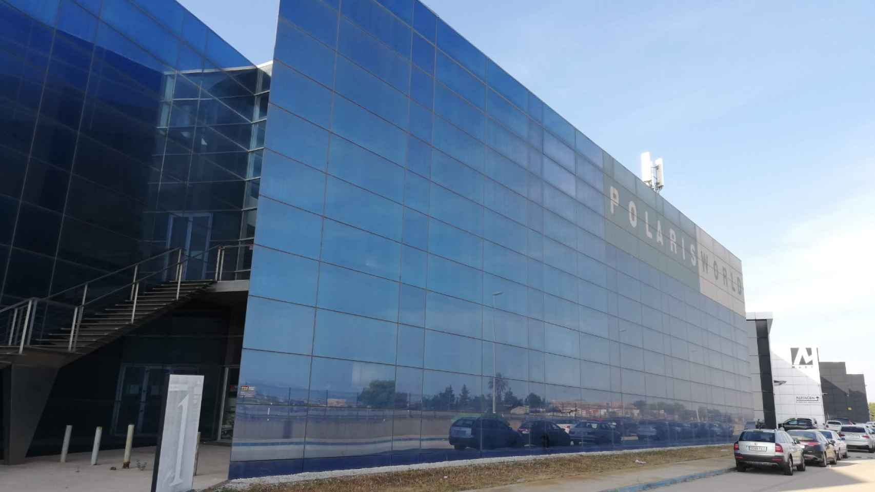 Edificio Polaris en Murcia.