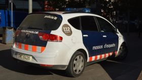 Un coche uniformado de los Mossos d'Esquadra.