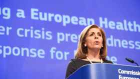 La comisaria de Sanidad, Stella Kyriakides.