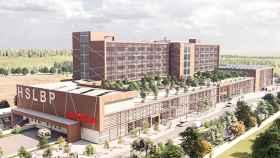 Imagen del Hospital Buin-Paine que construirá Sacyr.