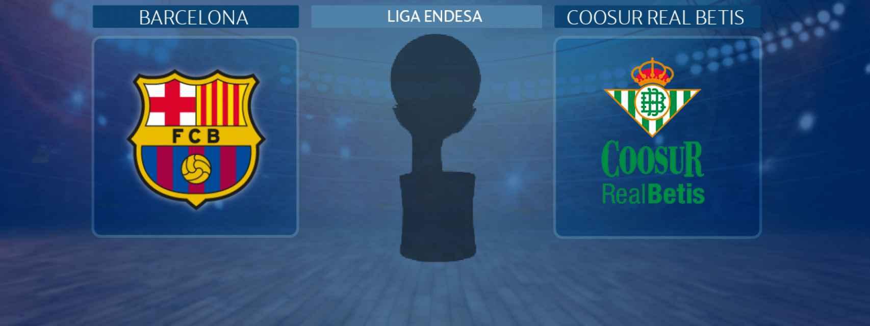 Barcelona - Coosur Real Betis, partido de la Liga Endesa