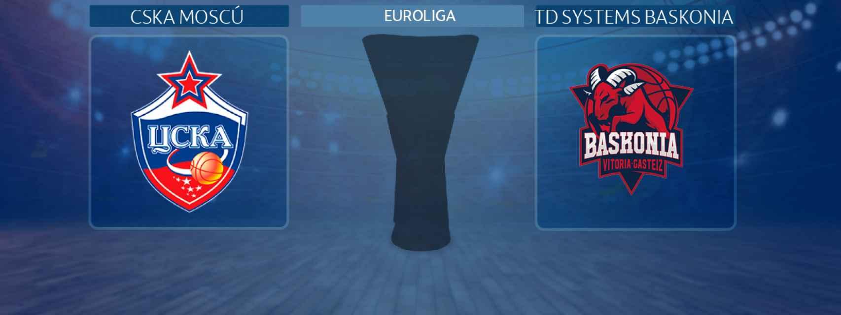 CSKA Moscú - TD Systems Baskonia, partido de la Euroliga