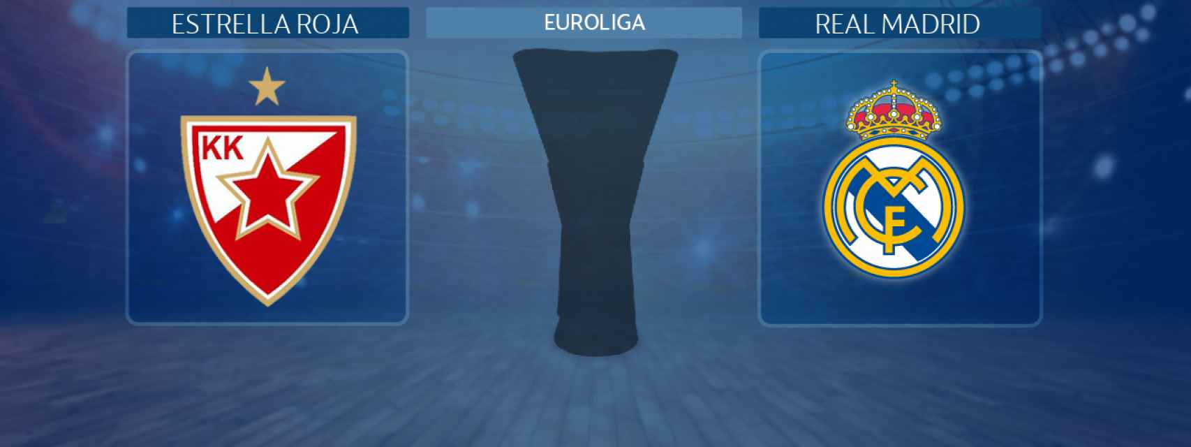 Estrella Roja - Real Madrid, partido de la Euroliga