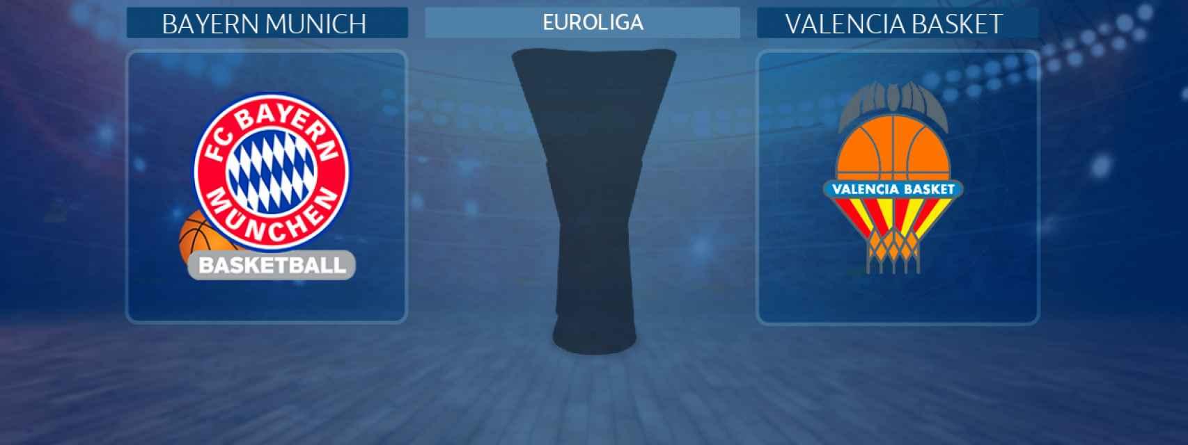 Bayern Munich - Valencia Basket, partido de la Euroliga