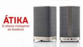 Vodafone ya tiene un altavoz inteligente con Alexa: Átika