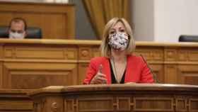 Ana Isabel Abengózar, portavoz del Grupo Socialista en las Cortes de Castilla-La Mancha