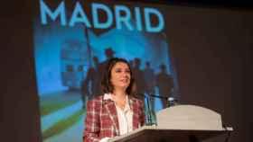 Imagen de la delegada de Cultura, Turismo y Deporte, Andrea Levy. Foto: Ayuntamiento de Madrid