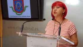 Matilde Hinojosa,  concejal de Acción Social de Ciudad Real