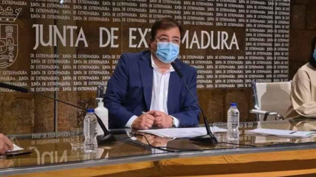 El presidente de la Junta de Extremadura, Guillermo Fernández Vara, en una imagen de archivo.