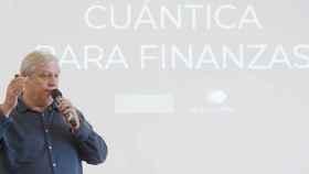 Alfonso Rubio-Manzanares, cofundador de Multiverse, en un evento de Bankia Fintech by Innsomnia.