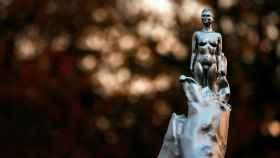 La polémica estatua de Mary Wollstonecraft.