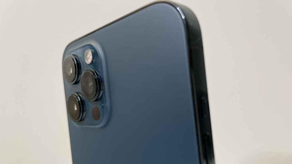 Cámara del iPhone 12 Pro Max.