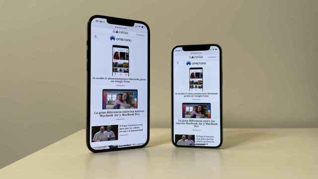 iPhone 12 mini y iPhone 12 Pro Max