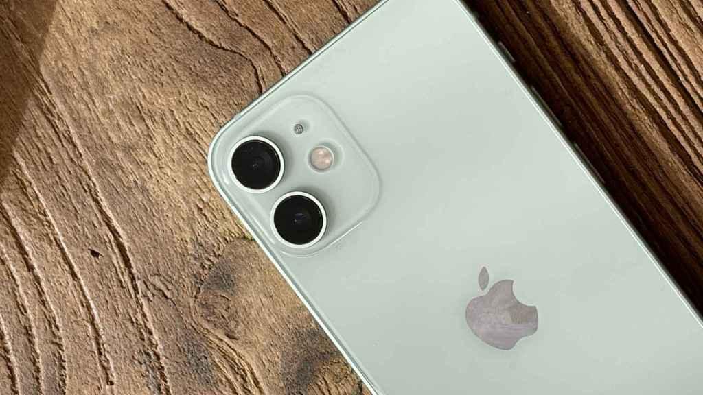 Cámara del iPhone 12 mini.