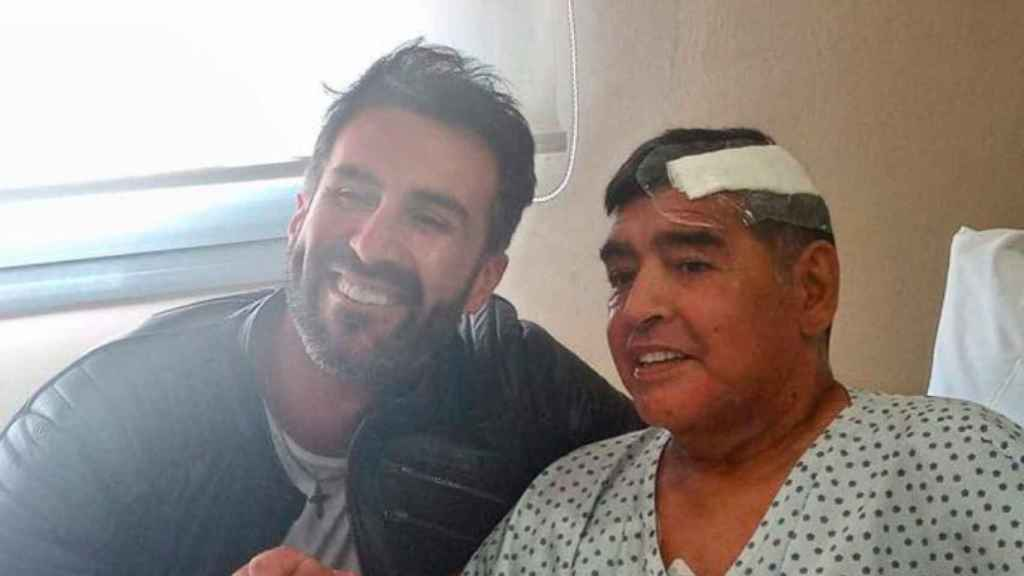 Maradona, en el hospital