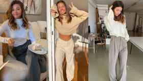 De tiro alto y acampanado: así es el pantalón que la 'influencer' Aretha Fusté ha puesto de moda