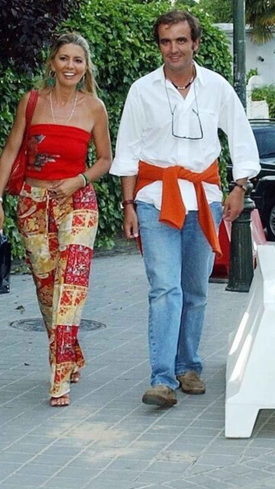 Antonio y Marisa en el año 2004.
