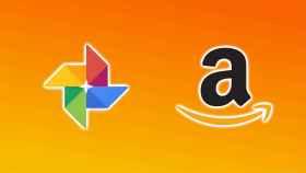 Logos de Google y Amazon.