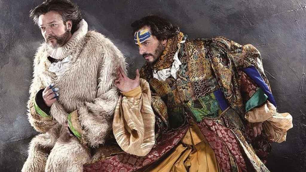 Asier Etxeandia y Enrico Barbaro son Mastodonte.