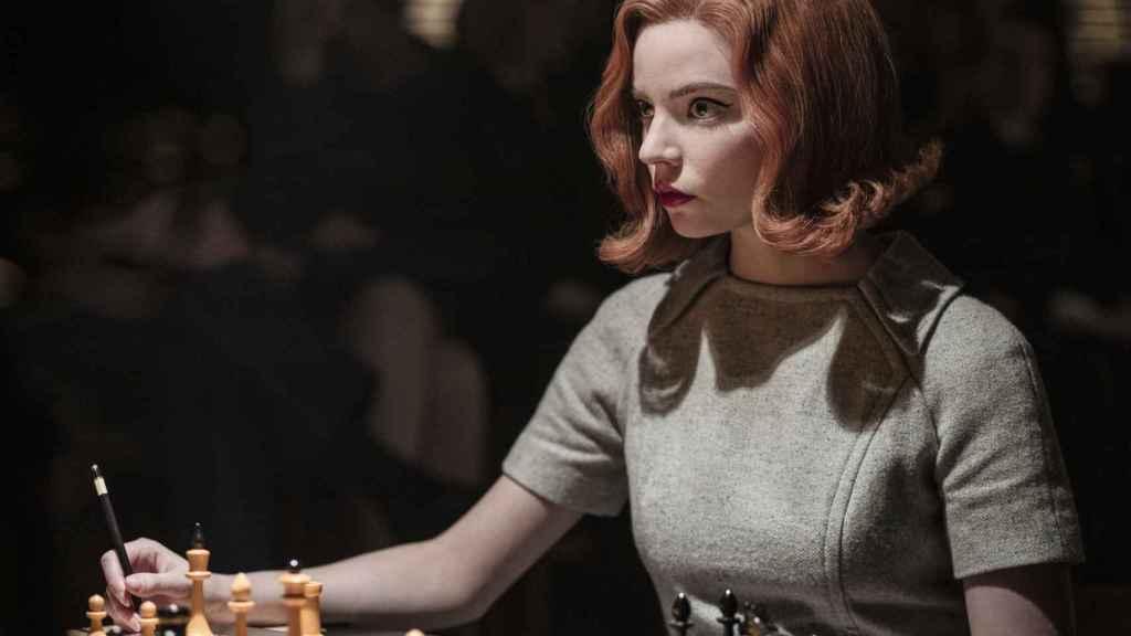 La actriz en Gambito de Dama.