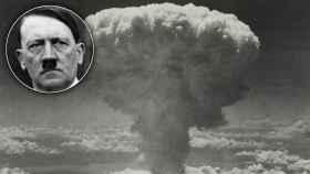 Explosión de la bomba atómica.