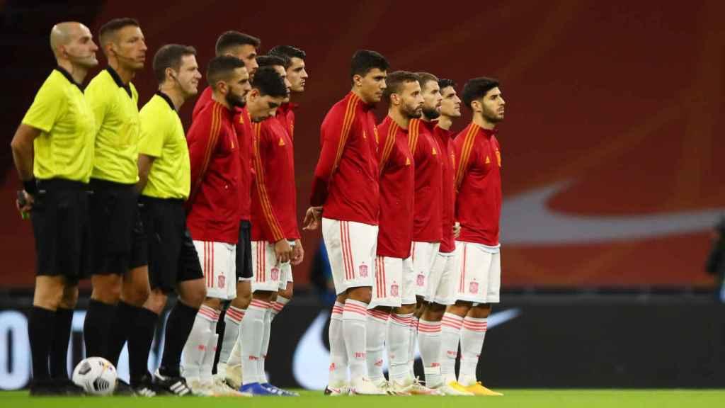 Plantilla de la Selección Española