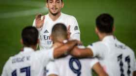 Fede Valverde, con el Real Madrid