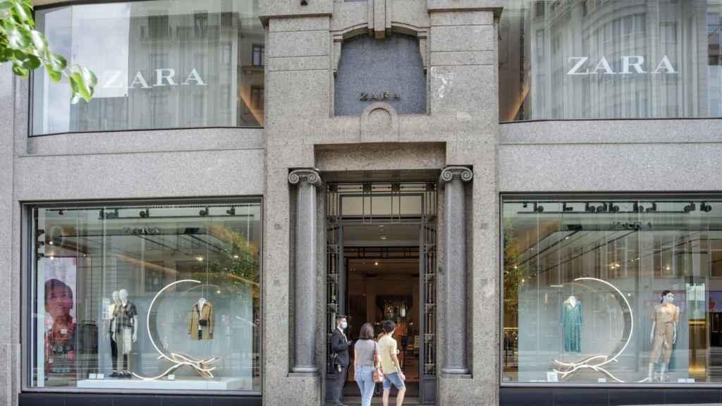 Una tienda de Zara en Madrid.
