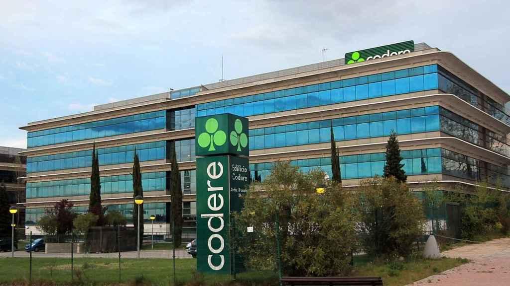 Sede central de Codere en Alcobendas (Madrid).