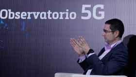Víctor Pascual, CTO de ZTE España, durante su intervención en el Observatorio 5G de EL ESPAÑOL e Invertia.