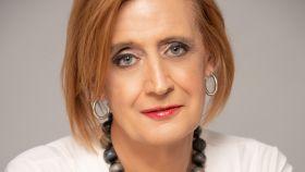 Eva Díaz, directiva trans en una tecnológica española.