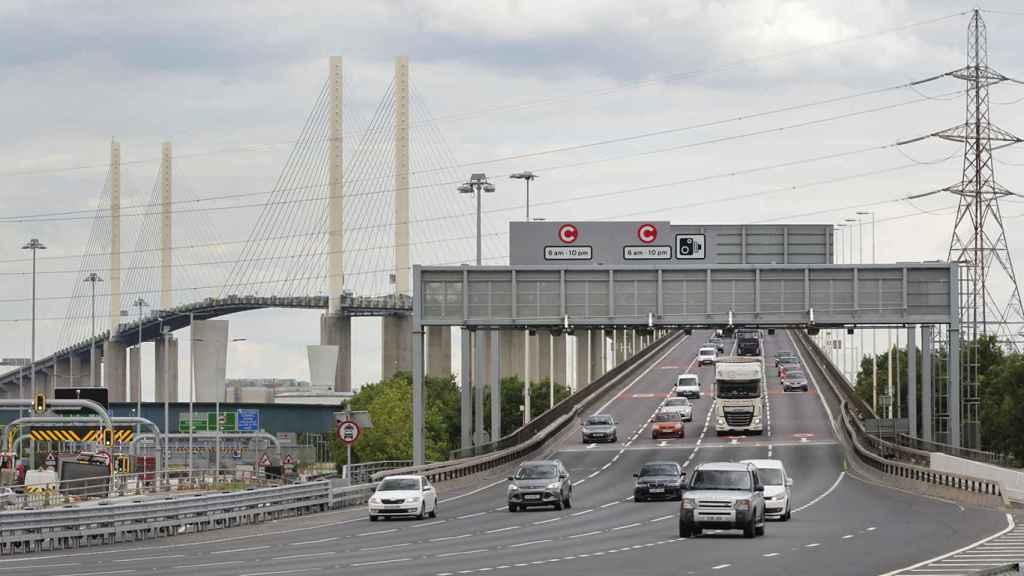 Dartford Crossing Abertis Motorway
