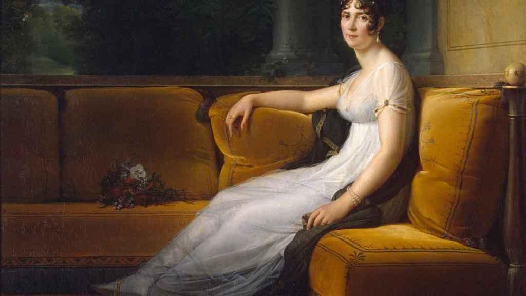 Retrato de Josefina como emperatriz.