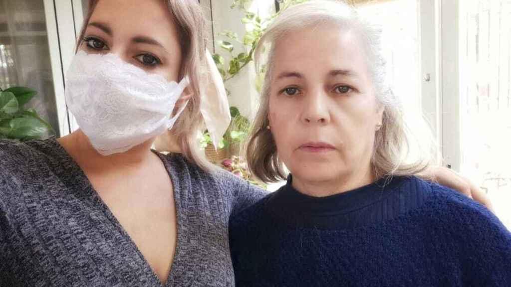 Ascensión y su hija, Anabel, las dos acusadas.