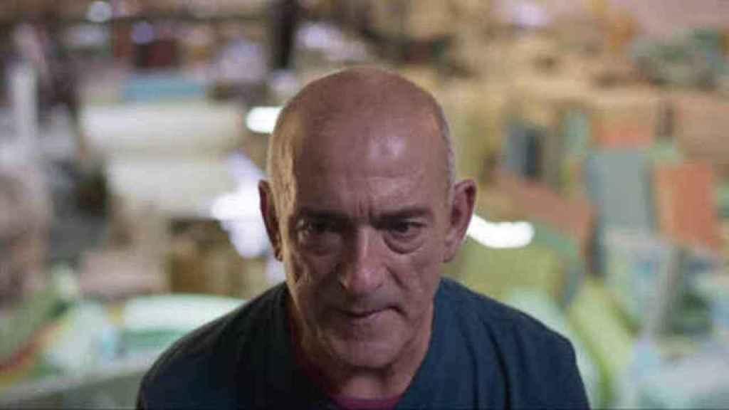 Fernando García en un fotograma de la serie documental realizada por Netflix.