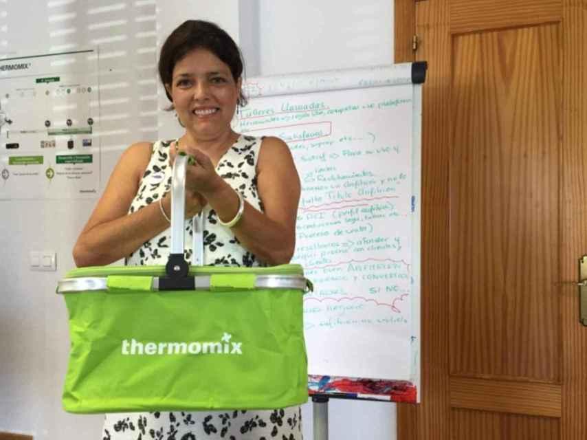 Inma, vendedora de Thermomix.